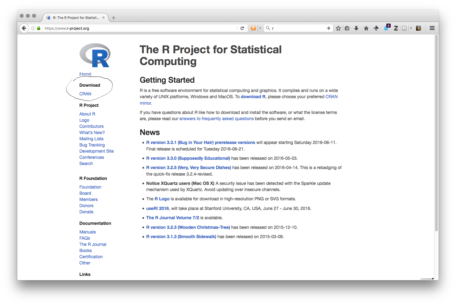 Free r statistical software download.